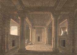 Interior of a Temple near Muddunpore